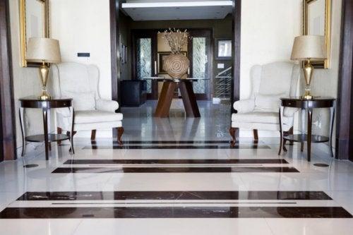 Usos do mármore na decoração de interiores