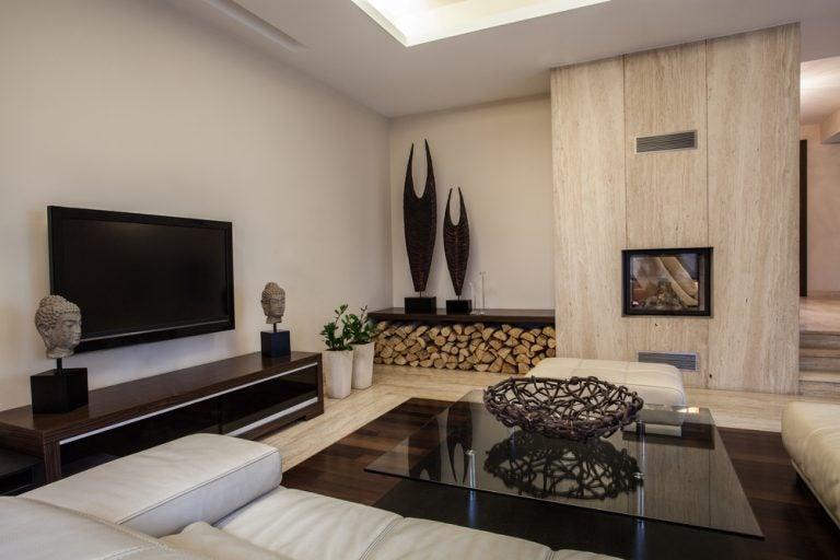 Importância da sala de estar projetada