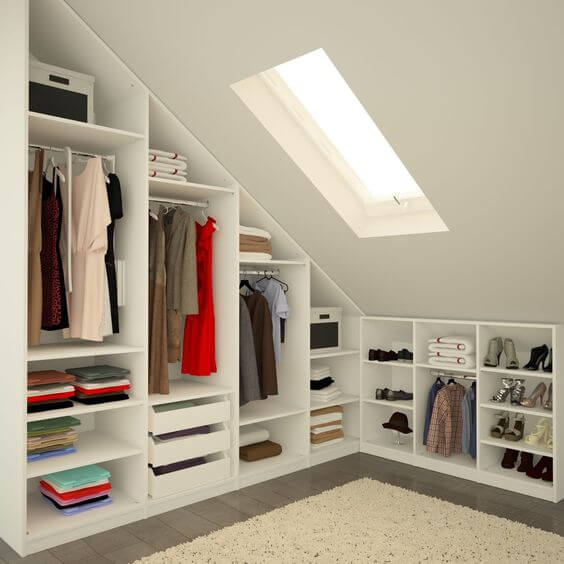 armário estilo escandinavo