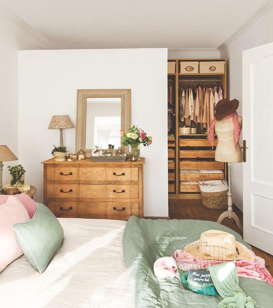 Leve em conta o estilo ao escolher a cômoda para um quarto