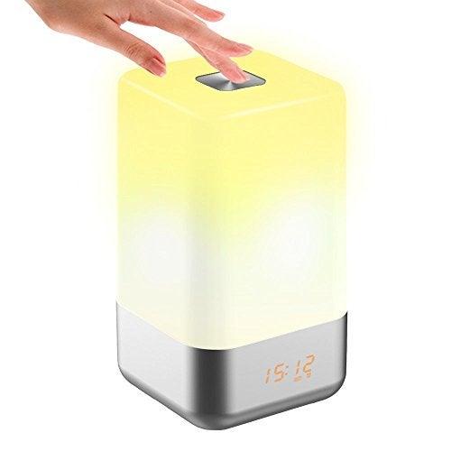 despertadores com luz tecboss