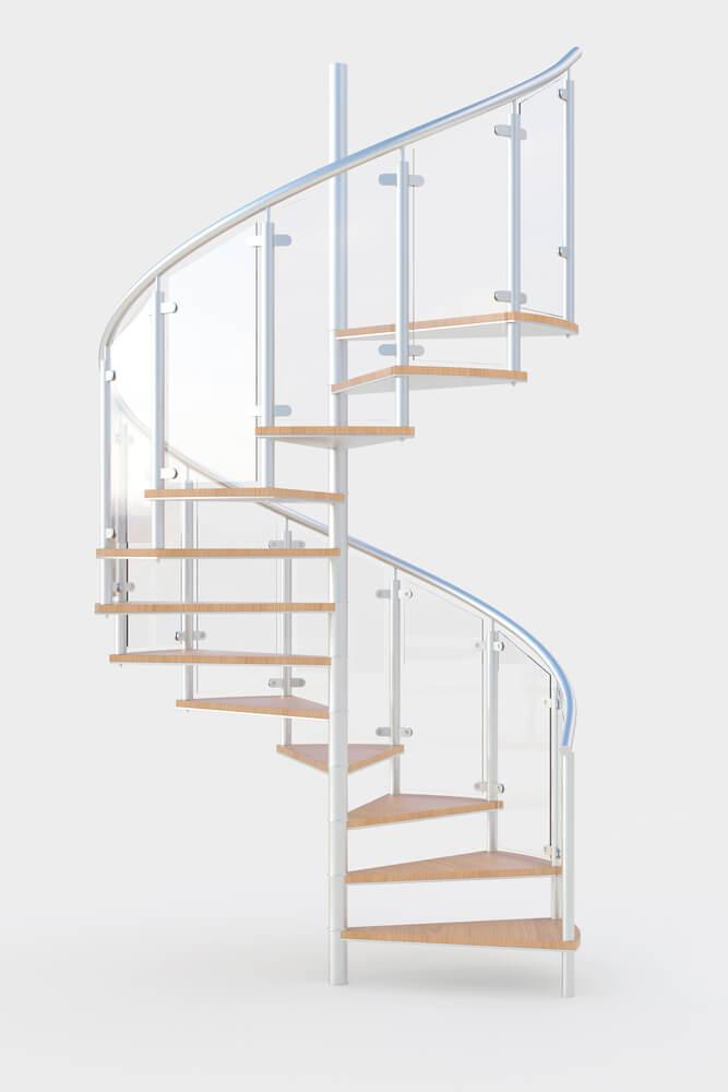escadas em espiral