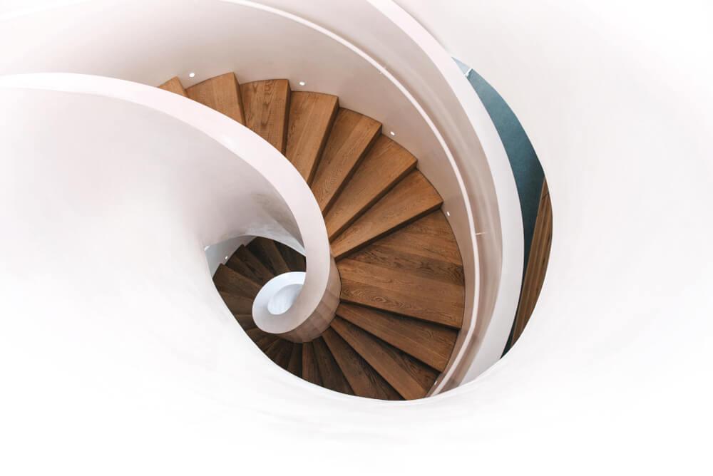 Escadas em espiral: qual é o modelo ideal?
