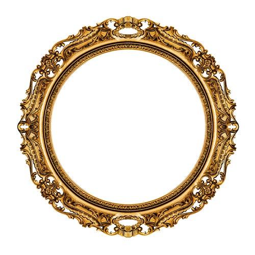 espelhos vintage dourado
