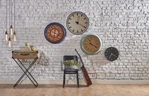 estilos de relógio de parede