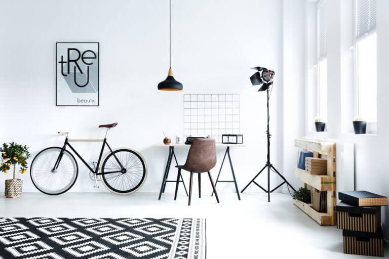 4 ideias de luminárias de chão para o seu escritório