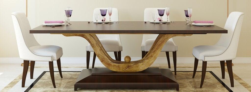 Tipos de mesa para a sala de jantar