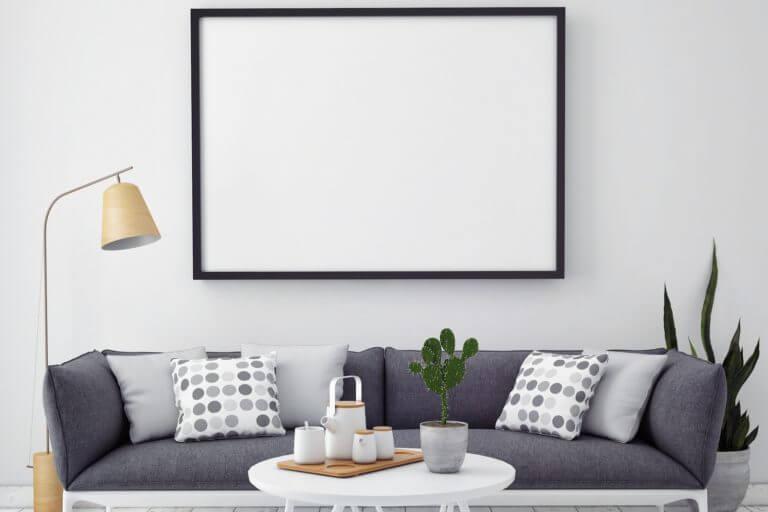 Como escolher a moldura para um quadro dicas decorativas - Fotos para hacer cuadros ...