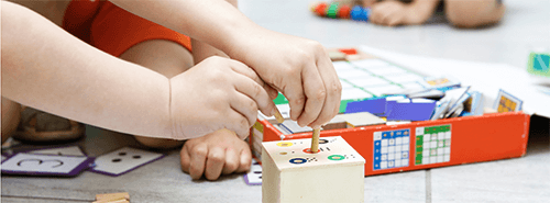Decoração montessoriana em quartos infantis