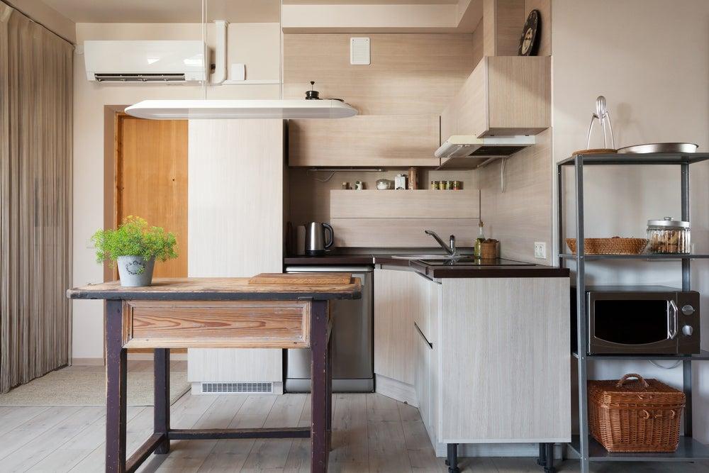 Elementos a considerar para otimizar o espaço na cozinha