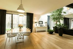 Um ambiente com plantas