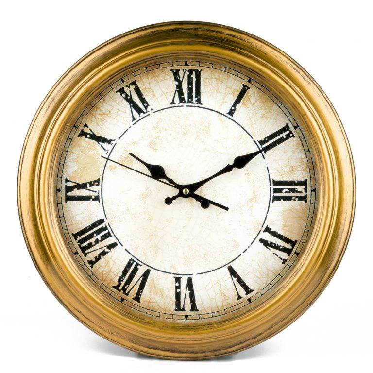 relógio de parede vintage