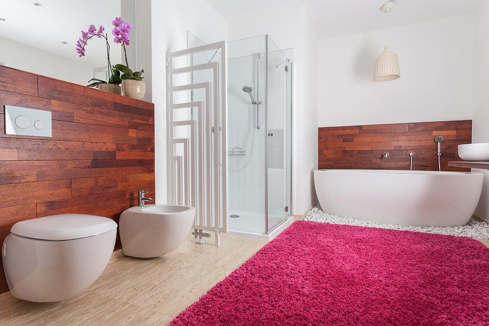 escolher o tapete ideal para o banheiro
