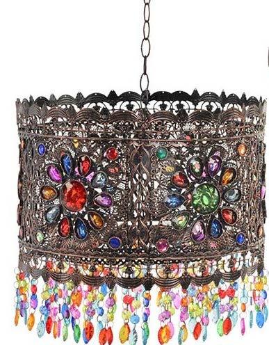 luminária estilo hindu