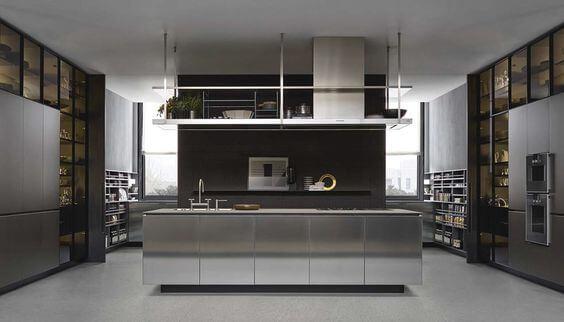 Decorar a sua cozinha com o estilo industrial