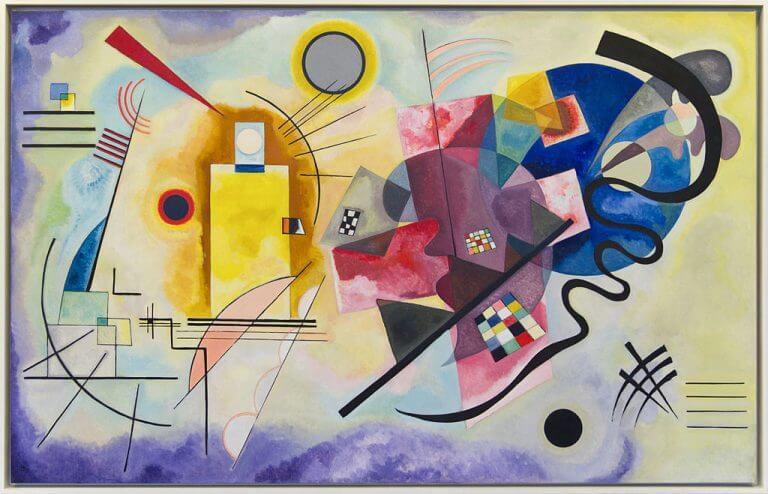 O que é a pintura abstrata