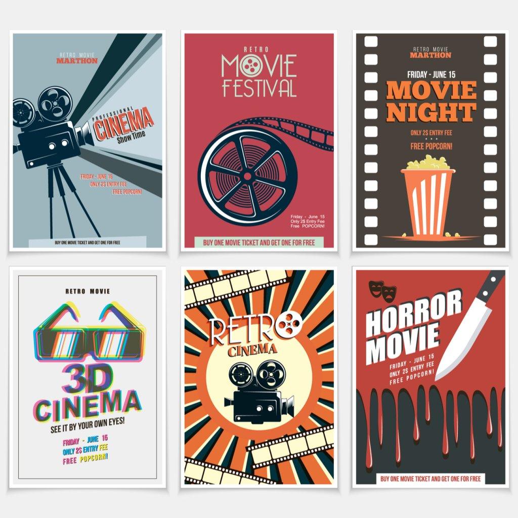 Como decorar o seu quarto se você é um amante do cinema
