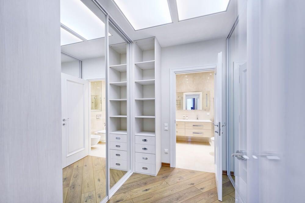 Algumas dicas para organizar um closet