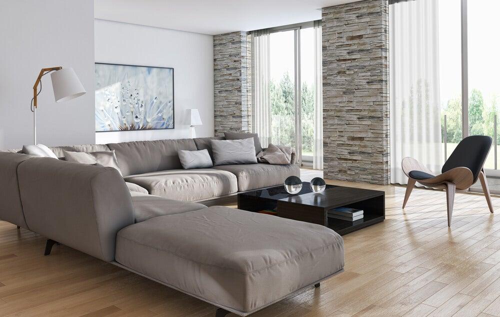 Considerações antes de comprar um sofá chaise longue