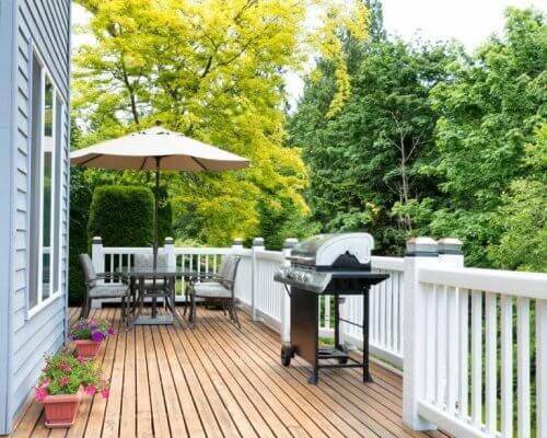 Quatro ideias para organizar o seu terraço para o verão