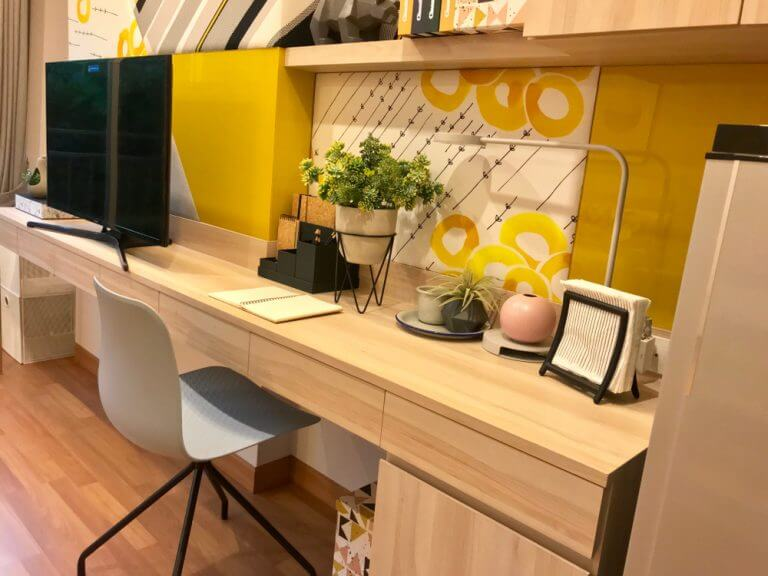 Utilidade e espaço com móveis de design