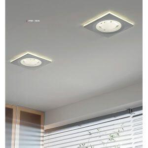 focos de luz na casa-luminárias de teto