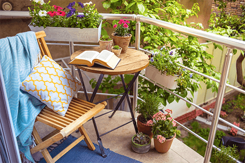 4 tendências em decoração para jardins de sacada