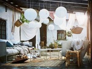 mesas de terraço