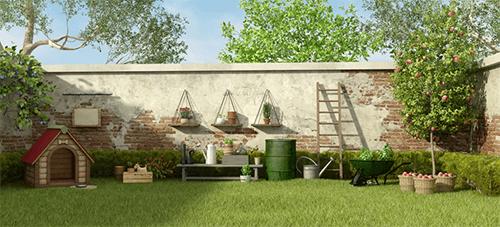 4 móveis para decorar o jardim