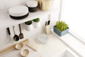 Prateleiras cozinha