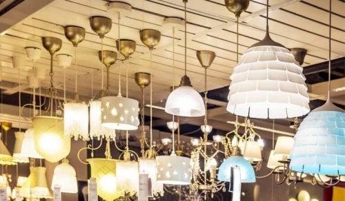 Luminárias de teto: algumas dicas para escolher corretamente
