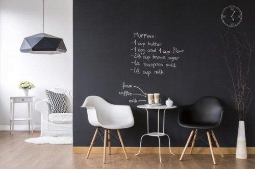 As últimas tendências em decoração usando o preto