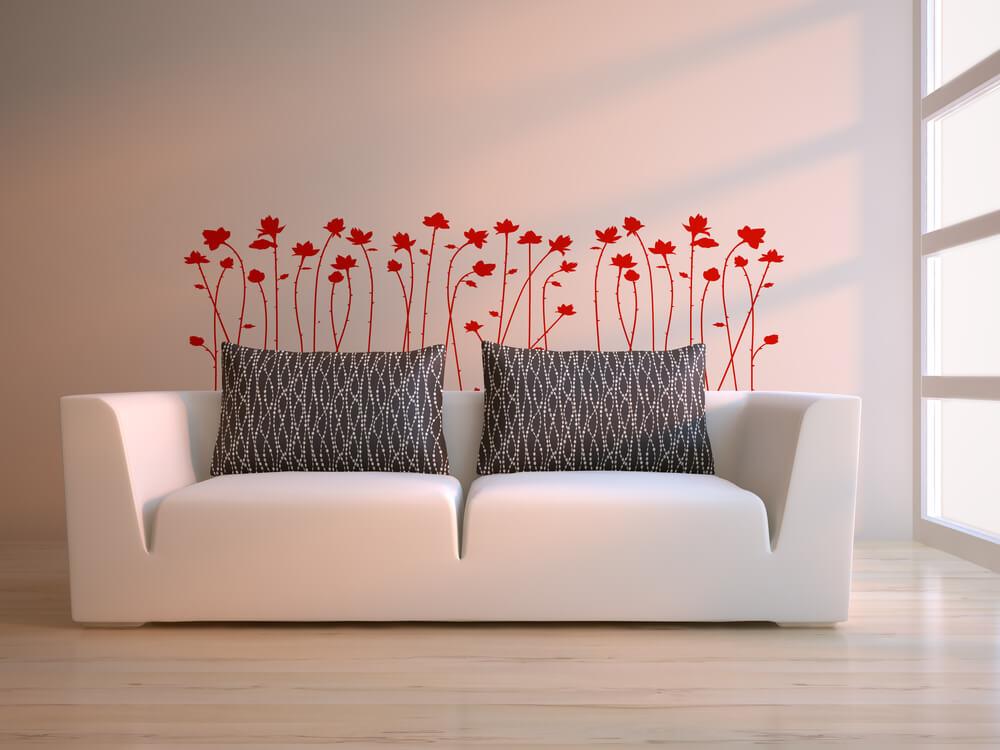 Vinis decorativos para decorar a sua casa