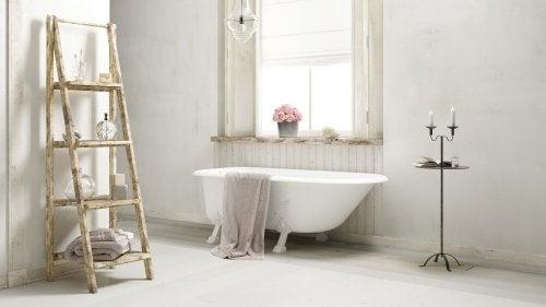 Banheiro no estilo Shabby Chic