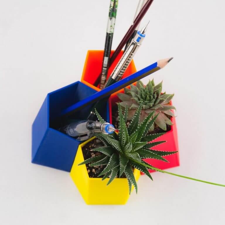 A decoração escutoide: paixão pela geometria