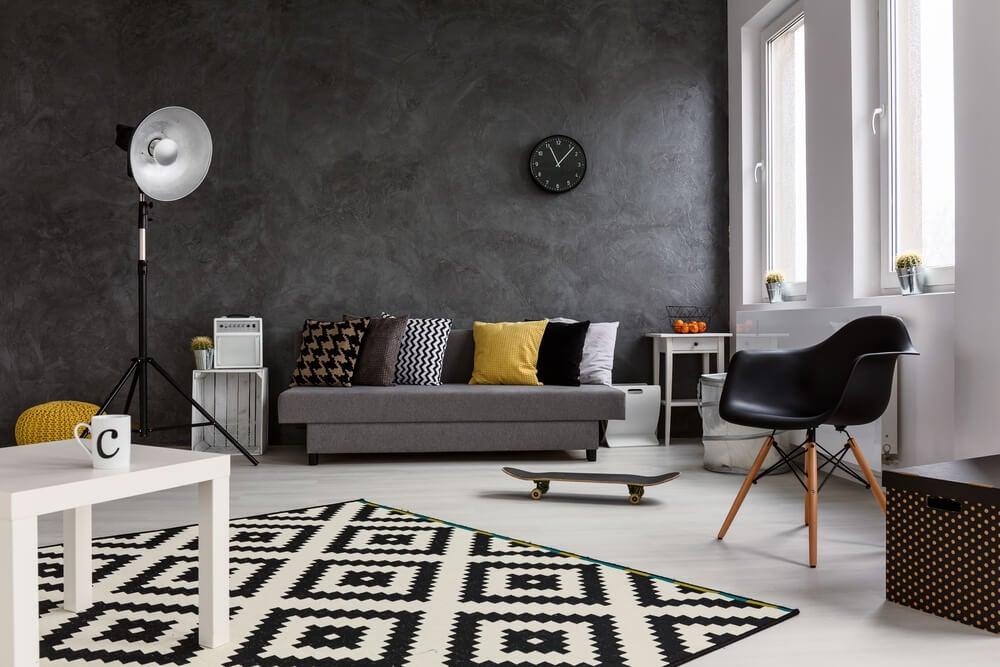8 dicas para decorar o seu apartamento com preto