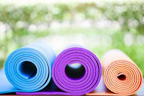 Decorar o seu jardim para fazer ioga