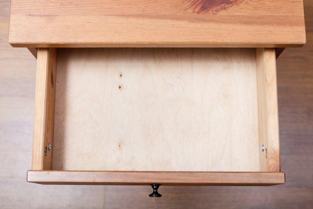 reutilizar móveis gaveta