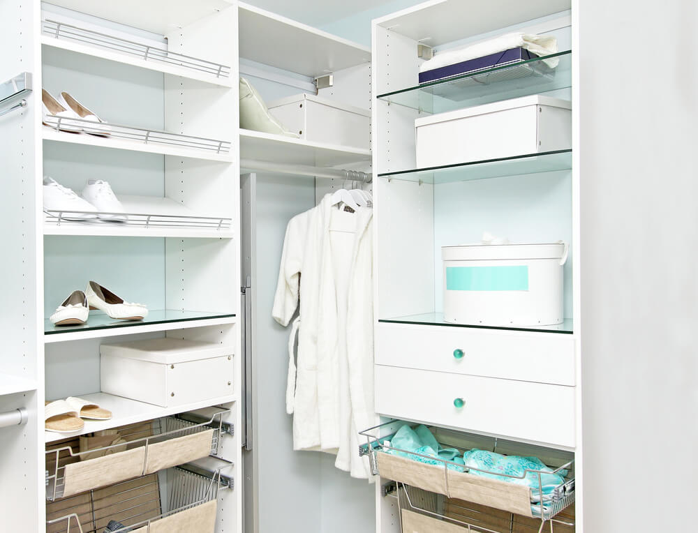 Crie o closet dos seus sonhos com uma boa iluminação