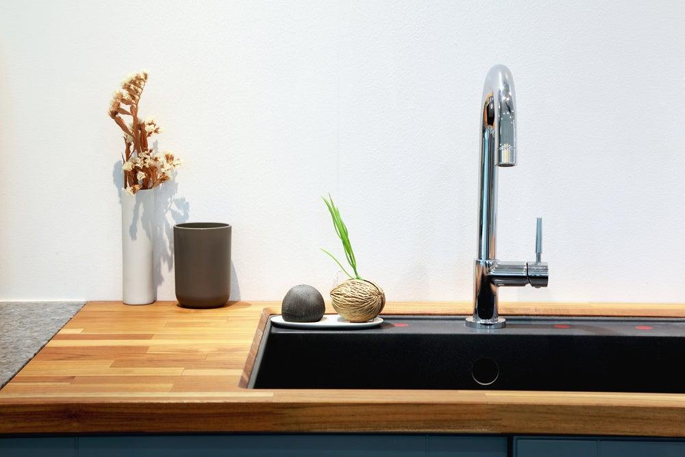 bancada para cozinha de madeira