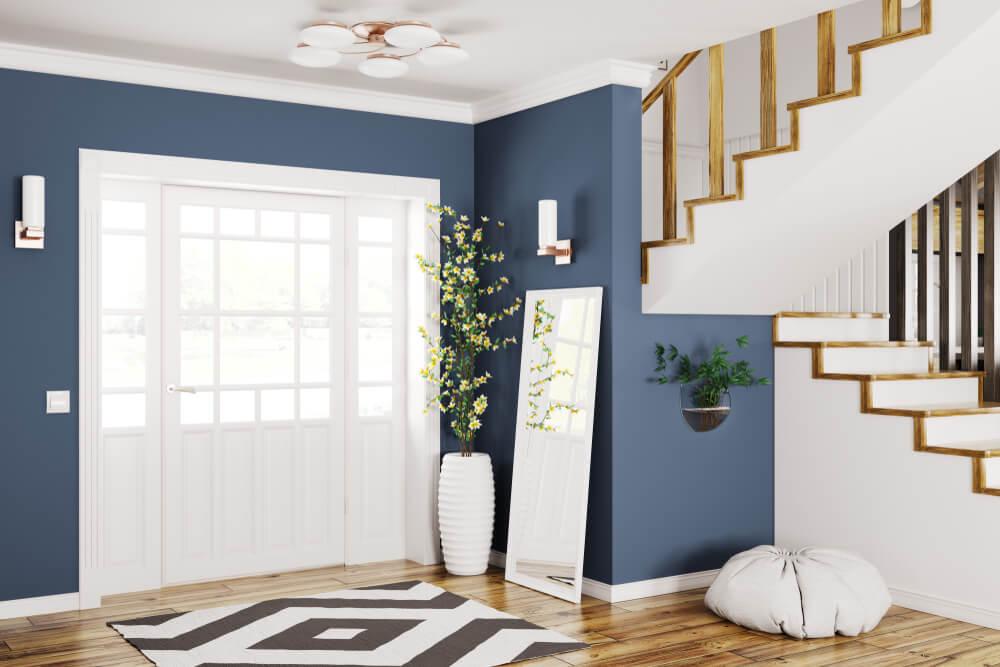 Belas plantas para decorar seu hall de entrada