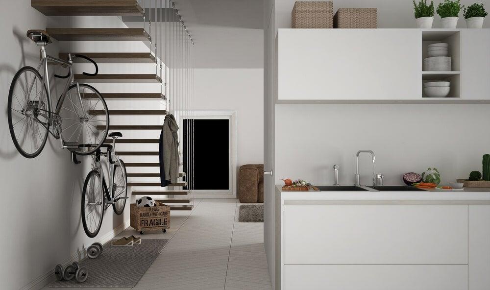 Tipos de escadas com designs criativos