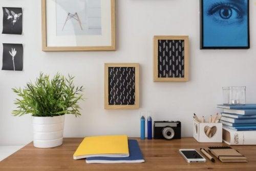 4 mesas de escritório da IKEA