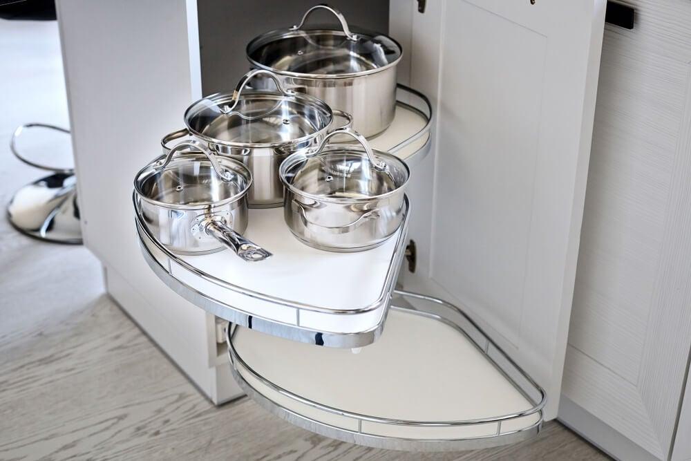9 objetos e móveis de cozinha muito práticos