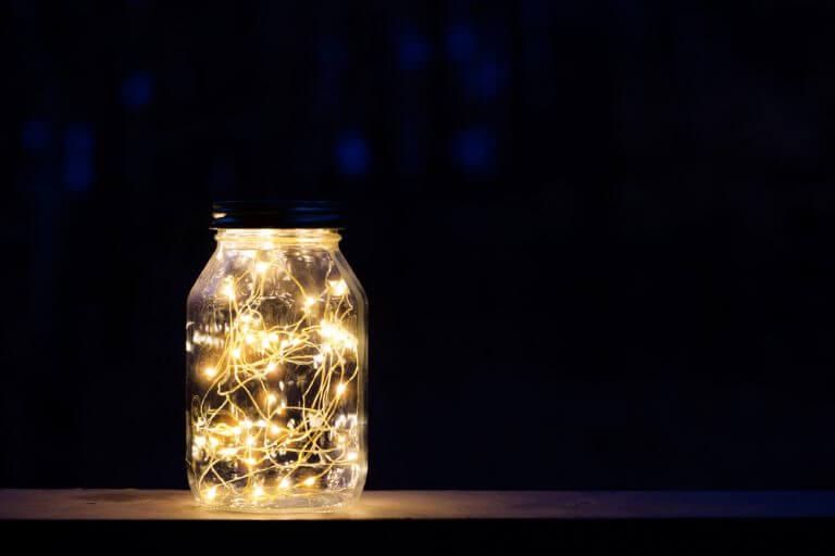 Lanternas mágicas DIY