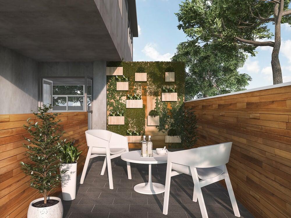 4 ideias originais para decorar um terraço urbano