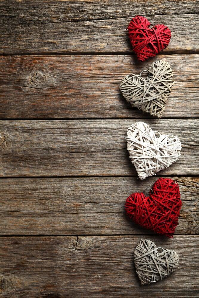 Decorações românticas: ideias inovadoras