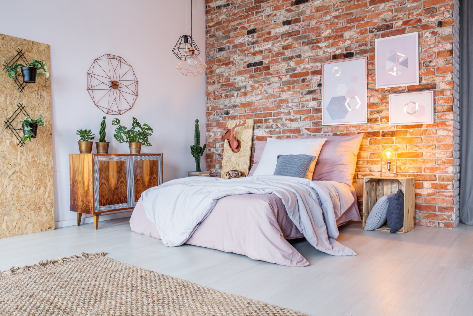 Lofts de estilo industrial: Materiais aparentes