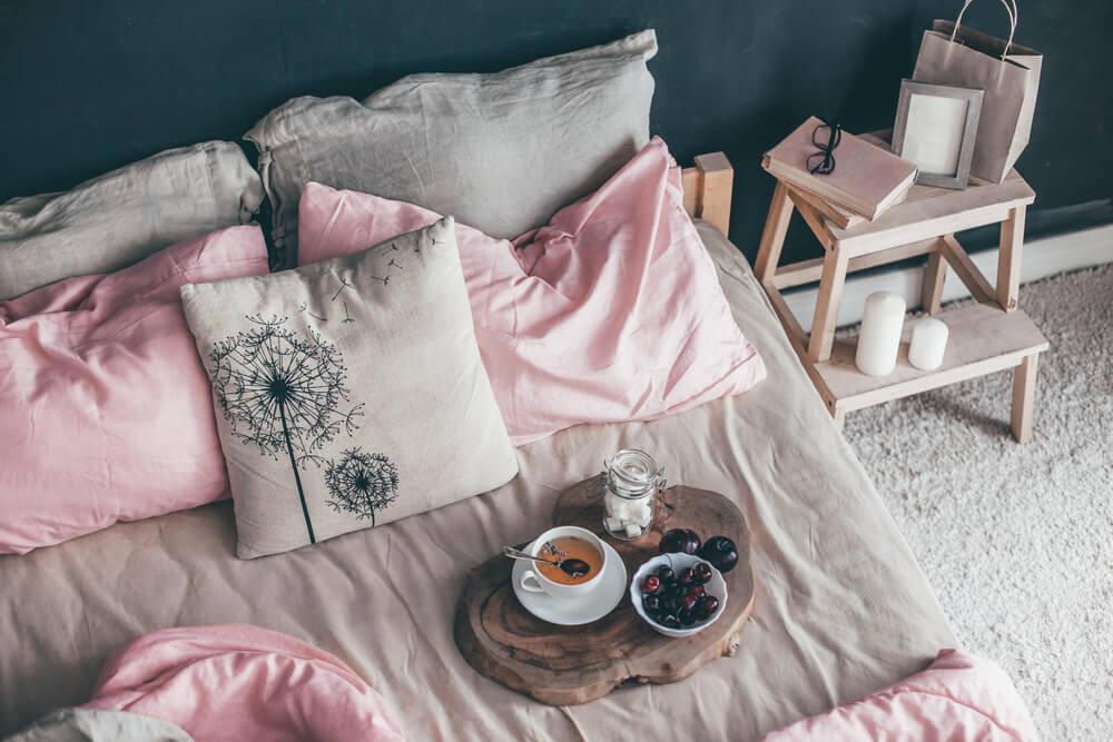 decorar casa com almofadas