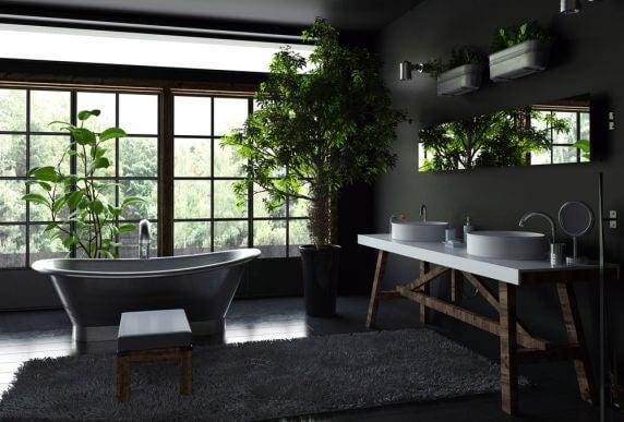 Como aplicar a cor preta nas paredes da sua casa